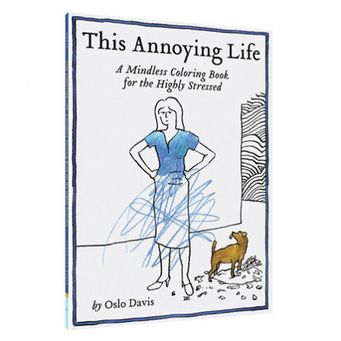 Coloring Book - This Annoying Life