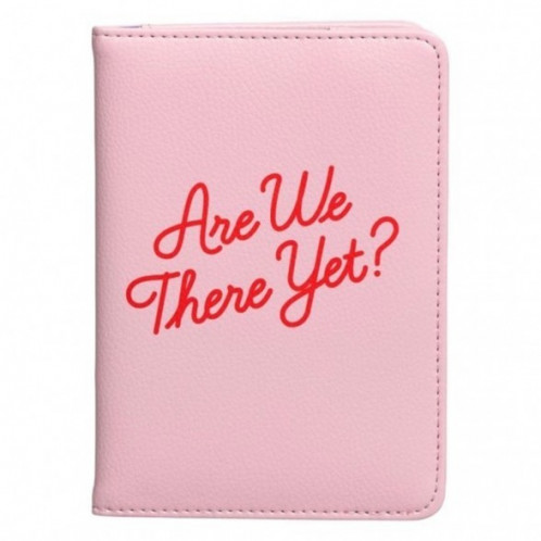 Passport Holder - Are We There Yet?