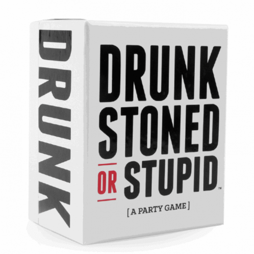 Party Game - Drunk, Stoned or Stupid