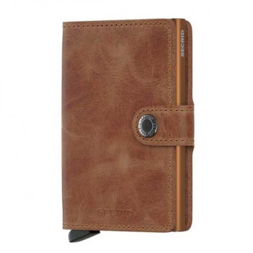 Mini Wallet Secrid - Vintage Cognac/Rust