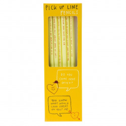 Pencil Set - Pick Up Line