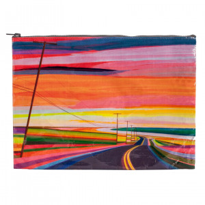 Jumbo Pouch - Sunset Highway