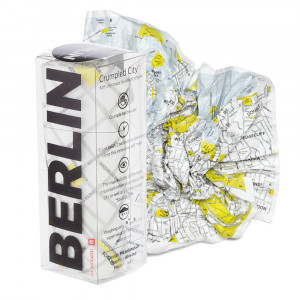 Crumpled City Maps - Berlin