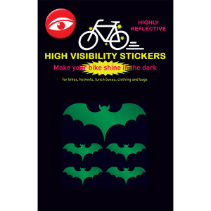 Glow Stickers - Bats Green
