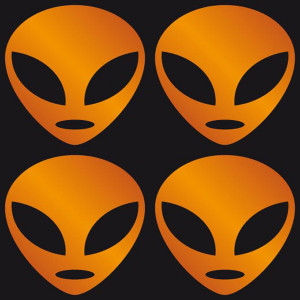 Glow Stickers - Alien Orange