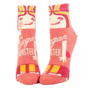 Woman Socks Ankle - Sugar Monster