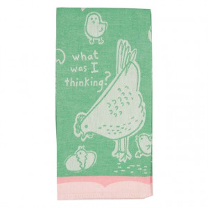 Dish Towel - What Was I Thinking