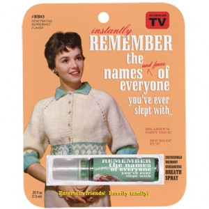 Breath Spray - Remember Names