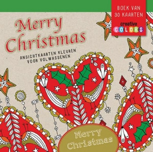 Colouring Cards - Merry Christmas