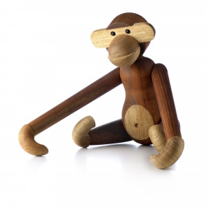 Wooden Object - Monkey Small