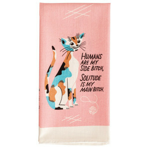 Dish Towel - Humans R My Side Bitch