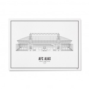 Wijck Poster  Amsterdam Johan Cruijff Arena | AboutNow.nl