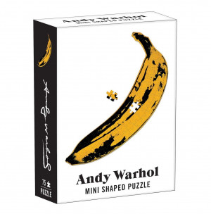 Mini Shaped Puzzle Andy Warhol - Banana