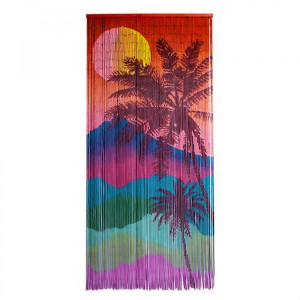 Bamboo Curtain tropical sunset | AboutNow.nl