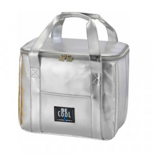 Be cool silver cooler bag - AboutNow.nl