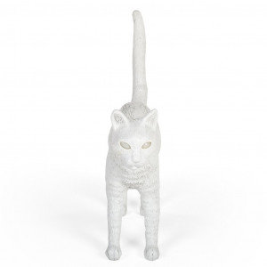 Lamp - White Cat Felix