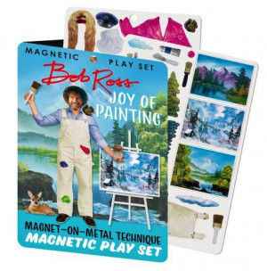 Magnetic Play Set  Bob Ross | AboutNow.nl