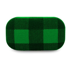Travel Case Plaid - Buffalo Green