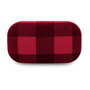Travel Case Plaid - Buffalo Red