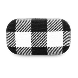 Travel Case Plaid - Buffalo White