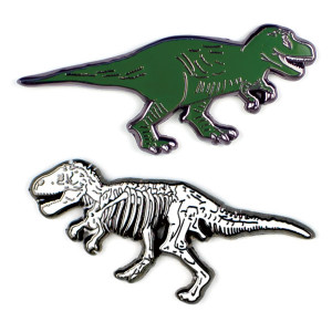 Pins - T-Rex And Fossil