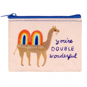 Coin Purse - Double Wonderful