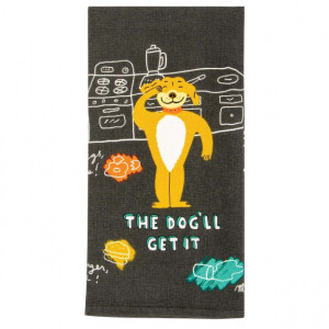 Dish Towel - The Dog'll Get It
