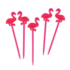 Cocktail Sticks Flamingo