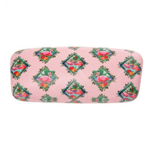 Glasses Case - Flamingos