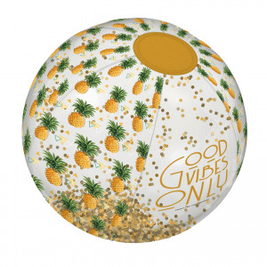 Beach Ball Glitter - Pineapple