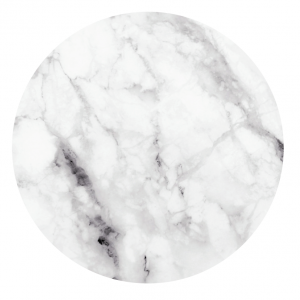Magnetic Sticker - Marble White