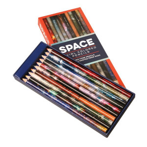Colouring Pencils - Space
