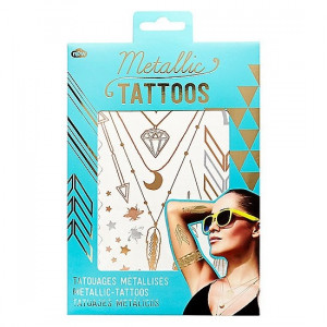 Temporary Tattoos - Metallic Gold
