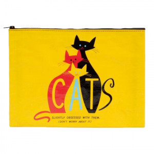Jumbo Pouch - Cats