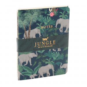 Jungle Notes Set of 2 - Elephant
