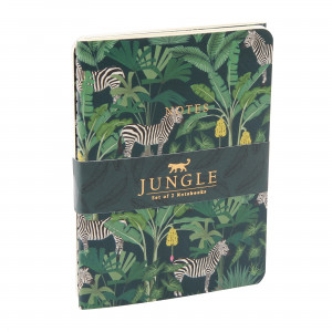 Jungle Notes Set of 2 - Zebra