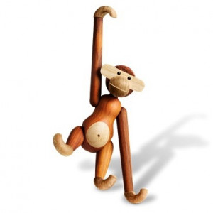 Wooden Object - Monkey Large