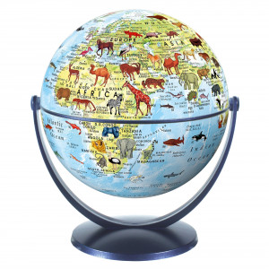 Children's Globe - Animals Blue Ocean
