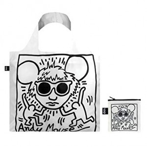 LOQI Tote Museum - Keith Haring Andy Mouse