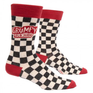 Men Socks - Grumpy Old Man