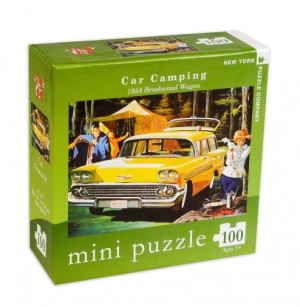 Mini Puzzle the New Yorker - car camping
