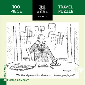 Mini Puzzle the New Yorker - Thursday