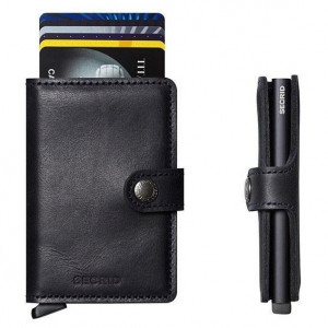 Mini Wallet Secrid - Vintage Black