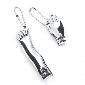 Nail Clippers Set - Hand & Foot Silver