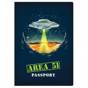 Notebook - Area 51 Passport