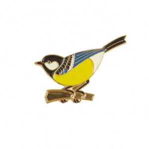 Pin - Bird Yellow