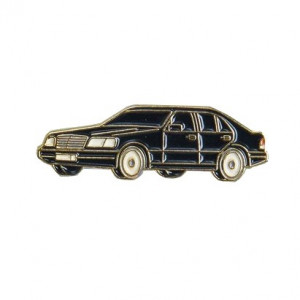 Pin Car Black
