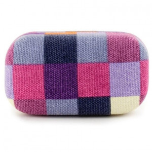 Travel Case Plaid - Pink/Purple