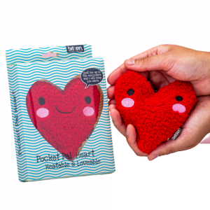Heart pocket pal handwarmer