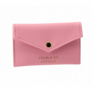Envelope Purse - Double or Nothing (Pink)